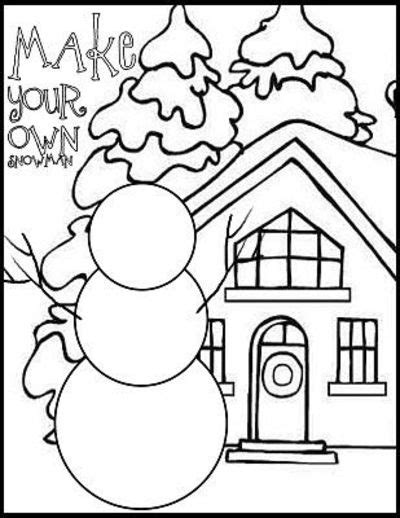 search results for elementary coloring sheet winter