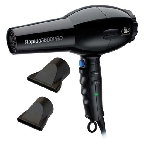 Hello 2000w Hair Dryer Gift Set Black professional rapida 3600 2000w hairdryer black