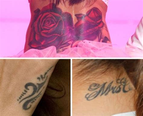 cheryl cole tattoo wrist cheryl cole s collection addicted to ink pop