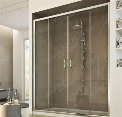 porta scorrevole per doccia porta scorrevole a 2 ante per doccia a nicchia quot replay quot