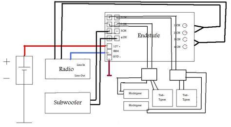 2 Aktiv Subwoofer Anschlie En Auto by Schaltplan Car Hifi Sound Probleml 246 Sungen