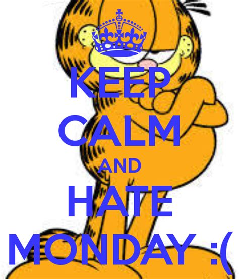 Garfield Memes - why garfield hates monday