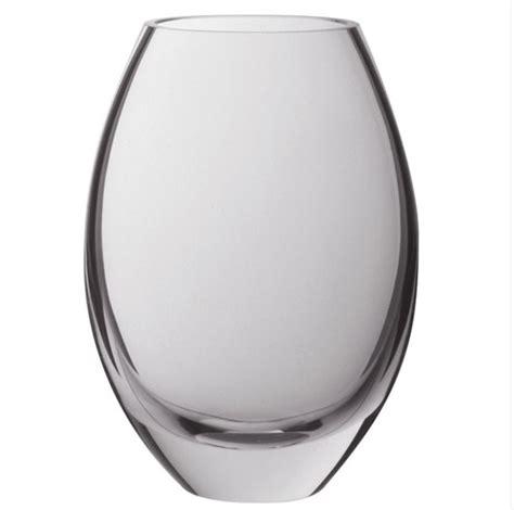 Oblong Glass Vase by Dartington Opus Medium Oval Vase Michael Virden Glass
