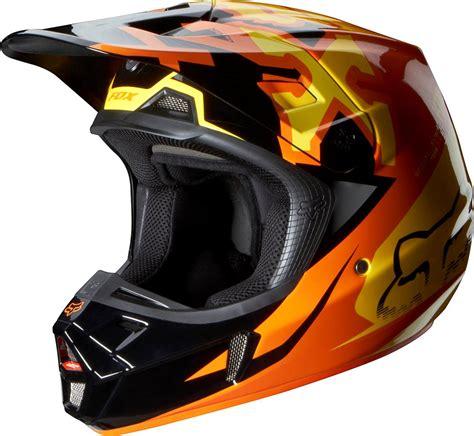 orange motocross helmet 2014 fox racing v2 anthem helmet orange 07126 009