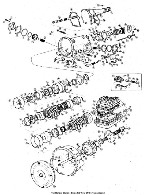 diagram of automatic transmission ford ranger automatic transmission diagram