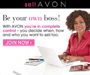 sell avon and be your own