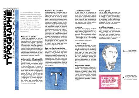 Portfolio Typography Layout
