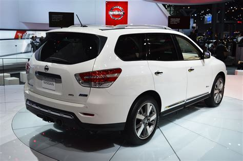 nissan pathfinder hybrid 2014 nissan pathfinder hybrid new york 2013 photo gallery