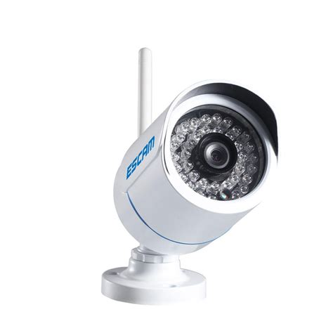 Wireless Ip Cctv 1 4 Inch Cmos 720p Vision Murah escam q6320wifi waterproof bullet wireless ip cctv 1 4 inch cmos 720p white