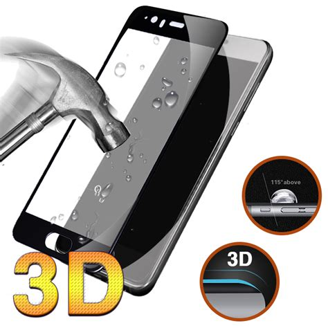for 5d curved edge huawei p10 tempered glass cover
