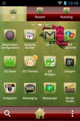 android themes rose lovely roses android theme for go launcher androidlooks com
