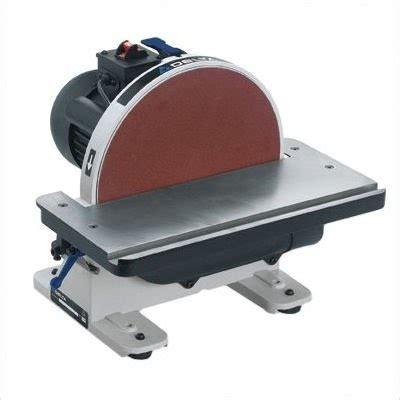 Delta 31 695 6 Inch 9 Inch 1hp Open Stand Belt Disc Sander