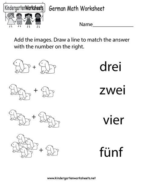 printable german numbers free printable german math worksheet for kindergarten