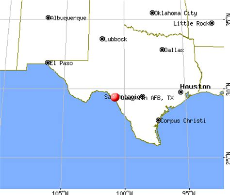 afb in texas map laughlin afb texas tx 78843 profile population maps real estate averages homes