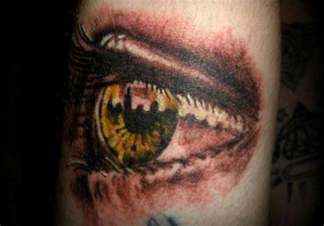 eye tattoo with reflection 30 staggering eye tattoos creativefan