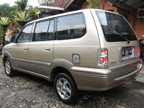 Toyota Kijang Kapsul 1997 Mulus kijang krista efi 2 o a t th 2001 asli bali mulus stnk