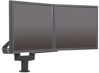 Monitor Lcd Evio innovative 5545 8408 evo dual lcd arms mount up to 21 quot monitor
