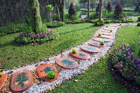 decorative path edging 75 garden path ideas and designs pictures