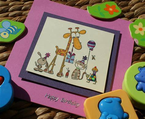 Handmade Childrens Cards - craft magic children s handmade birthday card