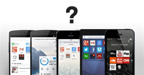 mobile browsers which mobile browser is best for your phone