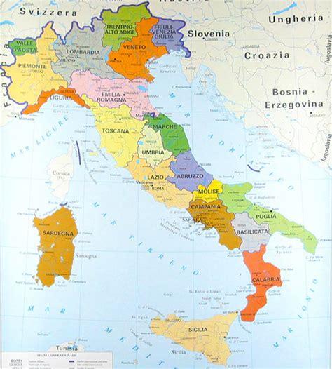 d italiaã mapas de italia mapa f 237 sico pol 237 tico y regiones de italia