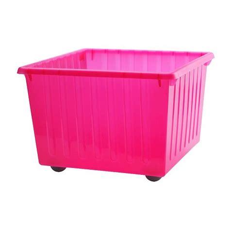 Sale Ikea Vessla Penyimpanan Dengan Roda vessla penyimpanan dengan roda merah muda terang ikea