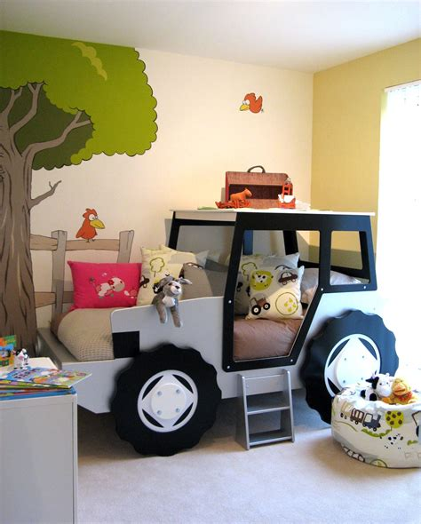 The Tractor Room by Artistic Touch Farm Themed Bedroom