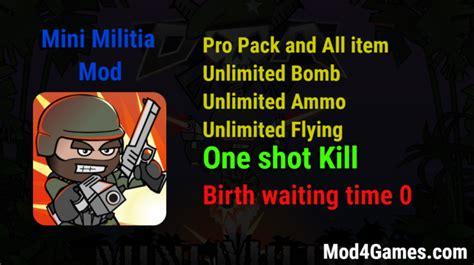 mod game mini militia mod4games com game mod