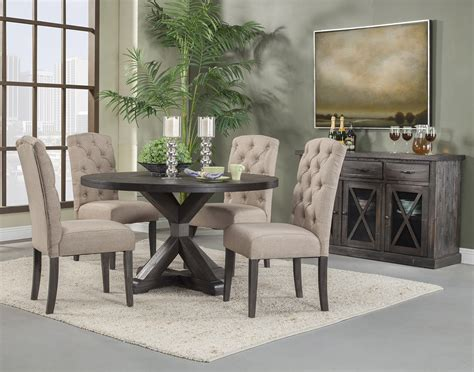 alpine furniture newberry  piece  dining room set