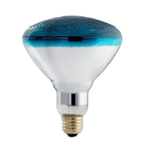 blue light bulbs home depot philips autism speaks 100 watt incandescent par38 blue
