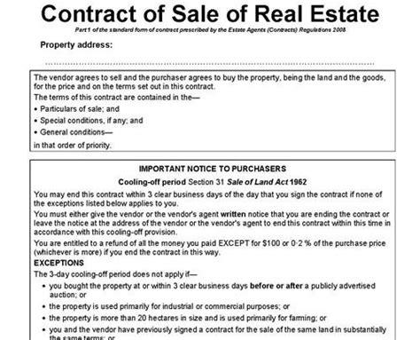 nsw contract  sale oxbridge marketing