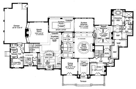 Old World Floor Plans | old world floor ls old world house floor plans old