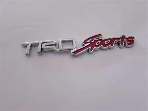 Emblem Crome Original Tulisan Astra Toyota emblem tulisan trdsports chrome