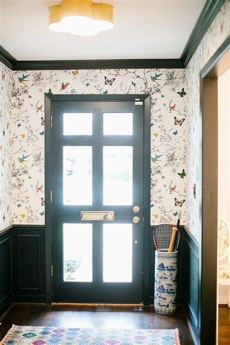 entryway ideas popsugar home botanical whimsy