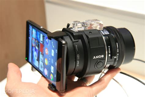 Lensa Kamera Hp Samsung S4 on sony icle qx1 e mount interchangeable lens at ifa 2014