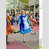 Alice In Wonderland, Disney Holiday Parade. Editorial Stock Photo ...
