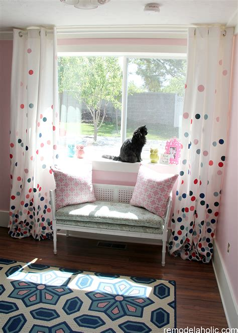 diy painted curtains 25 diy window covering tutorials remodelaholic bloglovin