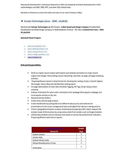Seo Copywriter Sle Resume by Resume Ebay Sales