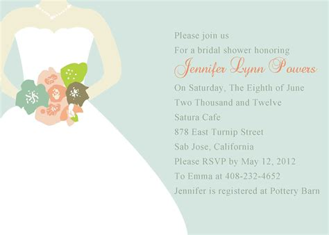 shower invitation templates free bridal shower invitations bridal brunch shower