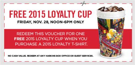 Harkins Gift Card Free Popcorn - harkins freebie free cup w shirt purchase friday giveaway on harkins site