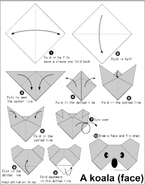 printable origami dog instructions step by step origami instructions memes