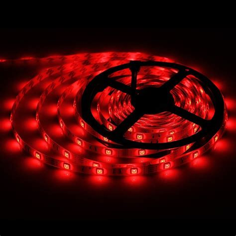 Bmouo 2 Reels 12v 32 8ft Waterproof Flexible Rgb Led Strip Multi Colored Led Light Strips