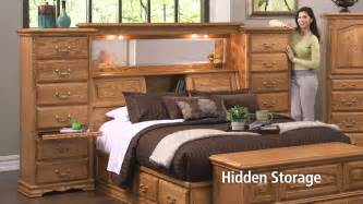 Make Bed Higher Mid Wall Headboard With Secret Compartments Youtube