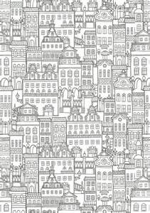 coloring pages for adults buildings coloriage pour adulte anti stress architectures a imprimer