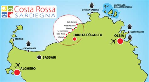 buy a house in sardinia costa rossa beaches in sardinia map and pics