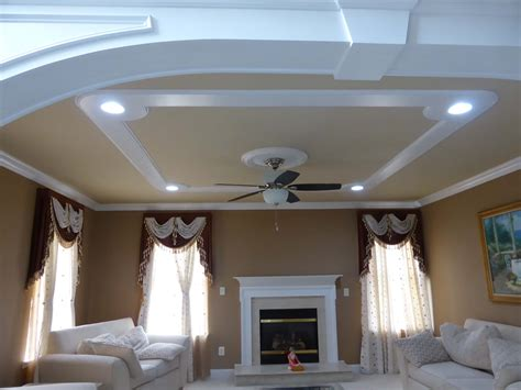 Ceiling Design by Ceiling Designs Crown Molding Nj