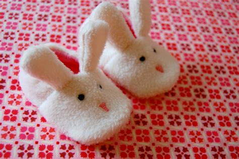 baby bunny slippers bunny slippers baby booties by jenniferladd on etsy
