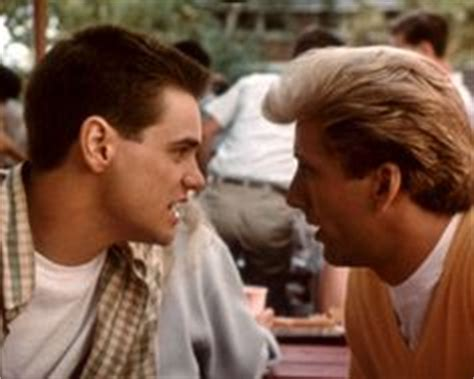 film with nicolas cage and jim carrey with his unruly hair and his scruffy appearance kevin j
