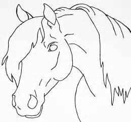 horse head lineart by bluemoon124 on deviantart