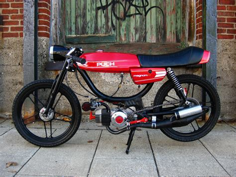 Mofa Puch by Puch Magnum Quot Cafe Racer Quot Motorcycle Photo Of The Day